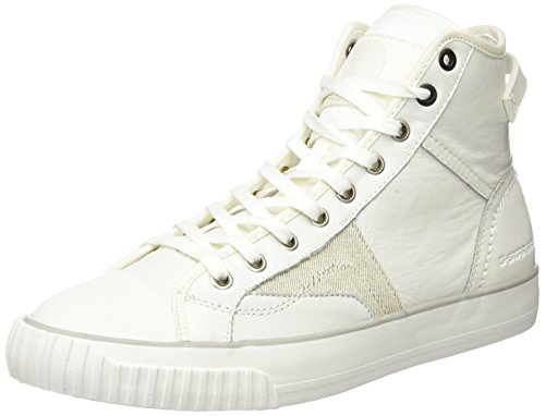 G-STAR RAW Campus Scott High, Sneakers Hautes Homme Blanc (bright white 1322)