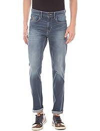 U.S. Polo Assn. U. S. Polo Assn. Men Blue Slim Jeans - B075NDCFBB