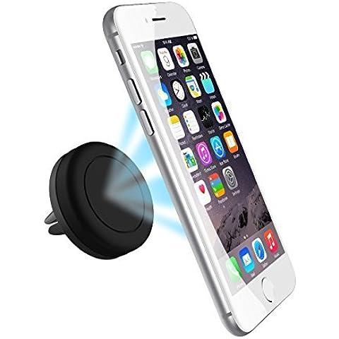 Soporte para auto, Breett Sostenedor magnética de respiradero para auto para iPhone 6, iPhone 6 Plus, Sumsung S6/ S6 Edge, y cualquier dispositivo móvil