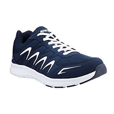 Sparx Men's Navy Blue and White Running Shoes - 6 UK/India (40 EU)(SX-276)