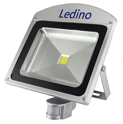 Ledino Ledisis High Power LED-Flutlichtstrahler, IR-Sensor, 50 W, kalt-/warmweiß Kaltweiß