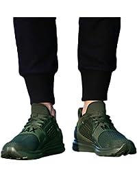JiaMeng Zapatillas Deportivas para Correr Usar Zapatillas de Deporte de Color sólido para Hombres Atlético Moda
