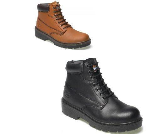 Da uomo, in tessuto tecnico, Calzature da lavoro di sicurezza da lavoro Dickies Antrim di sicurezza per scarpe e stivali nero