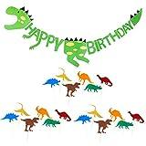Bonita Guirnalda de Dinosaurio para Cumpleaños, Diseño de la Selva...