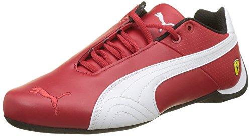 Puma Unisex-Erwachsene SF Future Cat OG Sneaker, Rot (Rosso Corsa White Black), 42 EU - Puma Ferrari Future Cat