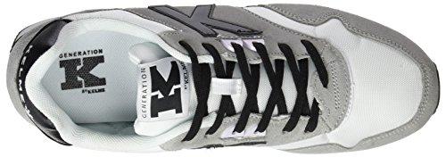Kelme Herren K-37 Low-Top Grau (weiß / schwarz)