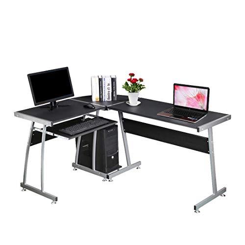 Generic Me Office Pelz für Home n für Home Tisch, Workstat, L-förmig, für Computer, PC, Schreibtisch, PC -