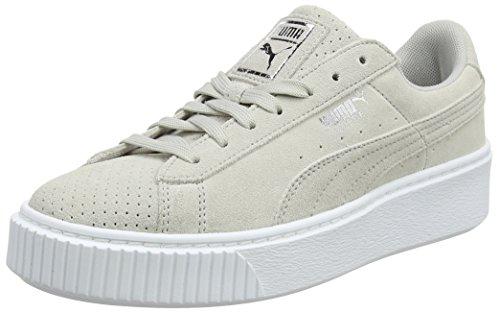 Puma Suede Platform Perf, Sneakers Basses Femme