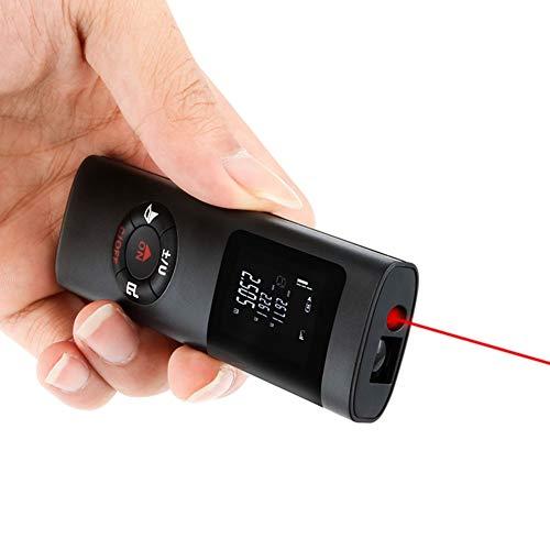 Laser Mesure, 40m/39,9m mini misuratore di distanza laser telemetro con batteria al litio ricaricabile, misuratore di distanza, area, volume calcolo