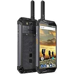 "Telephone Portable Débloqué IP68 Ulefone Armor 3T, 5.7""18: 9 Full HD+ Ecran avec Corning Gorilla 5, Talkie Walkie, 4G RAM + 64G ROM, Double SIM (Nano), 10300mAh, Android 8.1 - Noir"