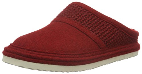 Haflinger Sky, Chaussons mixte adulte Rouge - Rot (paprika 42)