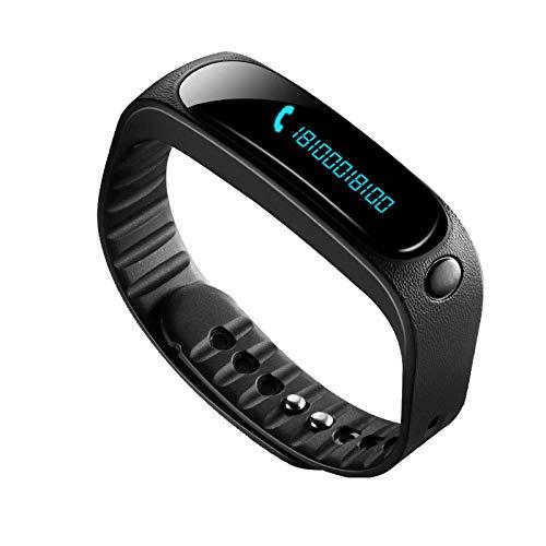 Intelligente Uhr Armband Sport wasserdichte Kleidung Schlafüberwachung Informationen Erinnerungsgeschenk Schwarz