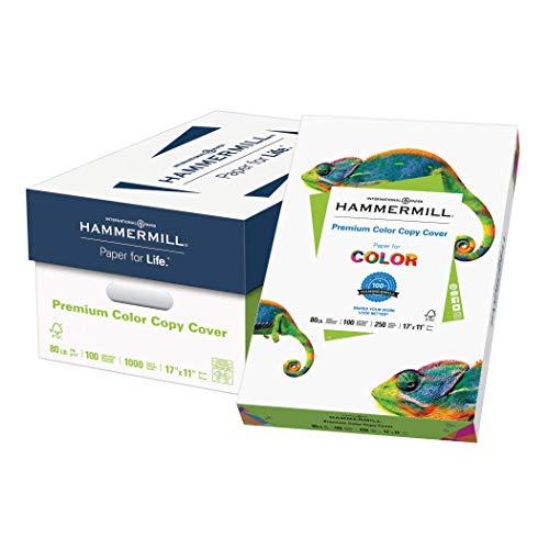 Hammermühle (Technik) Papier, Color Copy Digital, 80Lb, 8,5x 11, Buchstabe, 250Blatt/1Pack (120023), hergestellt in den USA, weiß (Hammermill-copy Papier)