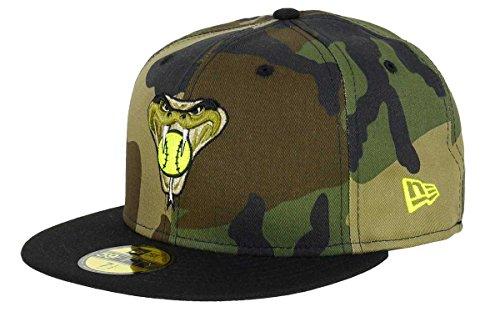 New Era Arizona Diamondbacks 59fifty Cap Woodland Camouflage - 7 1/2-60cm -