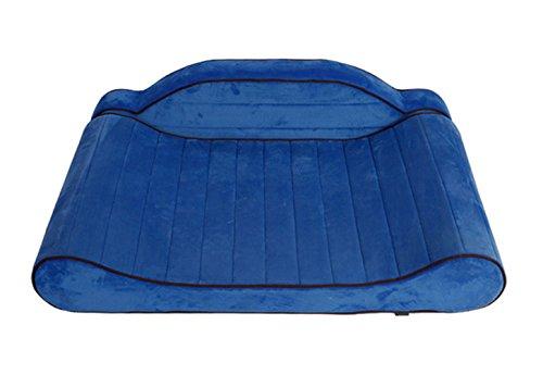 SXELODIE Haustierbett Hundematte Waschbar Abnehmbar Schützen Sie Die Wirbelsäule Geeignet Für Mittlere Und Große Hunde L,Blue (Golden Fleece Retriever)