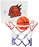 Eunicom Slam Dunk Bedroom Bathroom Toilet Office Desktop Mini Basketball Decompress Game Gadget Toy Home Decor for Kid Education and Basketball Lovers