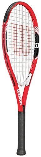 Wilson Roger Federer Grip 3 Professionelle Schläger Tennis Sport Schläger Rot-schwarz