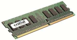 Crucial CL6 Mémoire RAM DDR2 2 Go PC2-6400 800 MHz