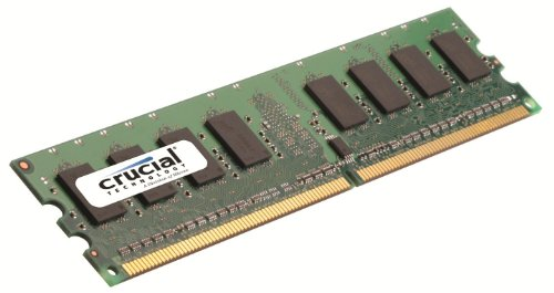 Scheda di memoria Crucial Technology CT12864AA800 1 GB 240-pin DIMM DDR2 PC2-6400 CL=6 Unbuffered NON-ECC (Ecc Unbuffered Dimm A 240 Pin)