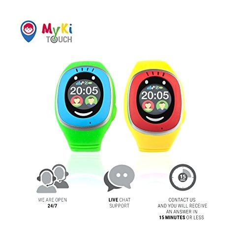MyKi GPS Uhr Kinder, Smartwatch mit GPS Tracker, Handy Ortung, SOS und App Tracking in Deutsch (Blau) - 7