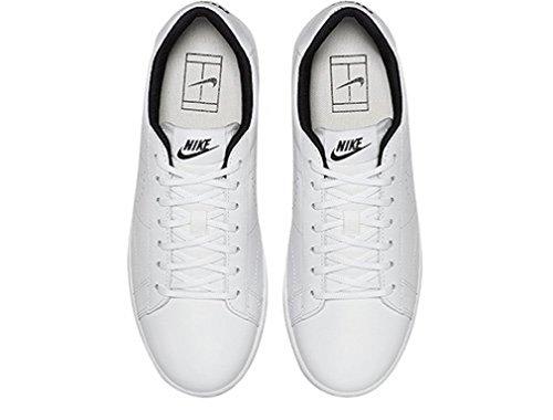 Nike Donna W Tennis Classic Ultra Lthr scarpe sportive Blanco (White / White-Black)
