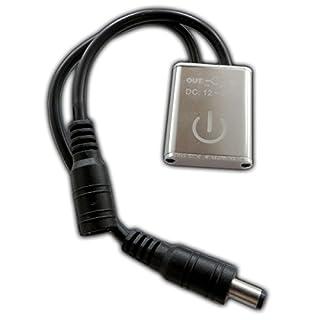 LED Touchdimmer - Dimmer Schalter zum dimmen Touch-Technik Regler für Streifen Strip Lichtleisten LED-Leisten etc.