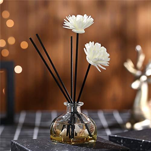 TianranRT❄ Diffusor Aromatherapie,Cane Oil Diffusoren Mit Natürlichen Sticks,Glasflasche Und Duftöl 60Ml (H) - Led-kajak-leuchten