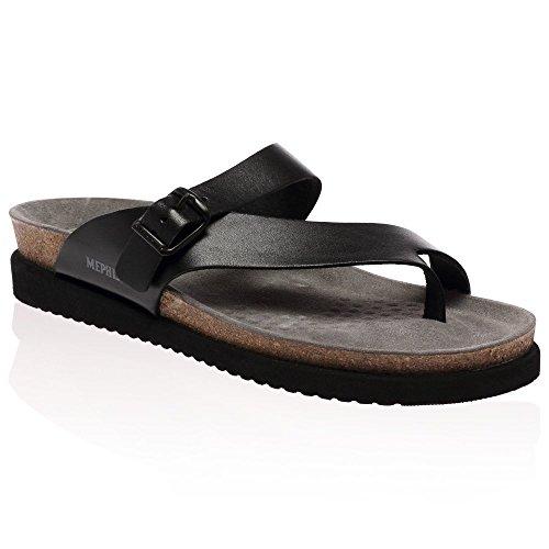 Mephisto Womens Helen Leather Sandals Chataîgne