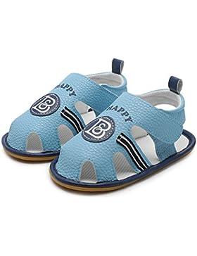 Decdeal Un Par de Sandalias para Bebé de Primeros Pasos para Verano, Suelas de Caucho Antideslizante, Prewalker