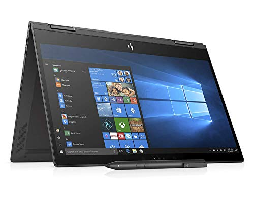 HP ENVY X360 13-AG0006NL Notebook Convertibile 13.3'' FHD, AMD Ryzen 5 2500U, 8 GB di RAM, 256 GB SSD, Penna Stilo Attiva Inclusa, Windows 10 Home, Argento Cenere [Layout Italiano]