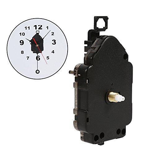 Orologio fai da te Movimento Orologio da Parete al Quarzo Meccanismo del Pendolo del Movimento Orologio Domestico Riparazione di Parti di Ricambio - 2