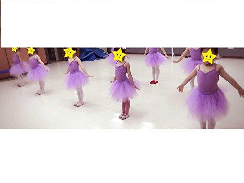 Tutu Frauen und Mädchen Ballettröckchen Röcke Prinzessin Ballett Pettiskirt Performing Dress Dancewear Unterröcke Purple