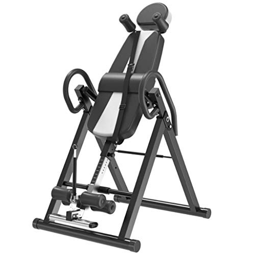 T-Tavola di inversione Tavolo rovesciato, bilanciere gravitazionale perfettamente bilanciato/peso massimo utente 135 kg, schiena migliorata
