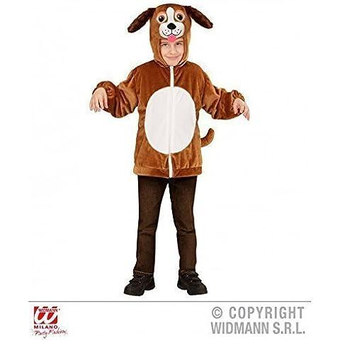 Carino Giacca / Costume per bambini come Cane con cappuccio per bambini giacca Tgl 98 cm / 1-2 Anni - Cane Carino Travestimenti