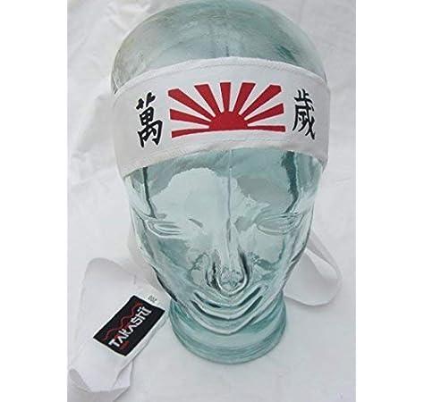 APEX S.K Fascia per Capelli Bandana Fascia Giapponese Hachimaki
