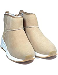 Ash Miko Boot Camel Fondo Gomma Sneaker Montone c6ada66373c