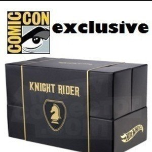 HOT WHEELS Knight Rider K.I.T.T. SDCC San Diego Comic Con Exclusive by Mattel