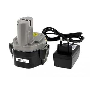Batterie pour Makita modèle 1435F Li-Ion chargeur inclus cellules japonaises