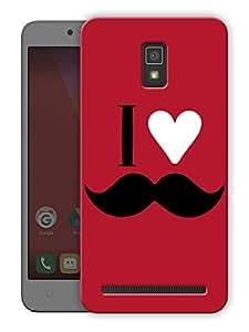 "Humor Gang i love mooch - red Printed Designer Mobile Back Cover For ""Lenovo A6600"" (3D, Matte Finish, Premium Quality, Protective Snap On Slim Hard Phone Case, Multi Color)"