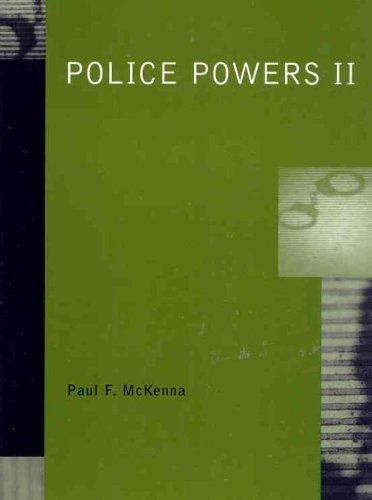 police-powers-ii-by-paul-f-mckenna-2002-05-07