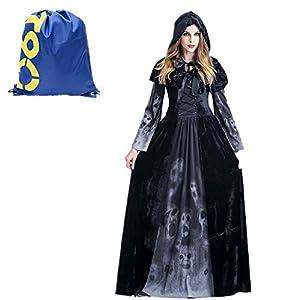 Vampiresa Sacerdotisa Disfraz de Cosplay,
