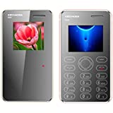 KECHAODA K66 (Combo Of Two MOBILES) Basic Feature Card Phone With Single SIM, 1.44 Inch Display (Gold+Rosegold)