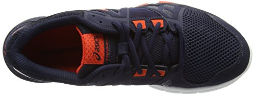Asics Gel-Craze Tr 3, Chaussures Multisport Outdoor Homme Bleu (sky Captain/orange/white 5009)