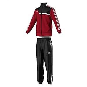 adidas Herren Bekleidung Trainingsanzug Tiro 13, Unired/Black/White, S, W54113