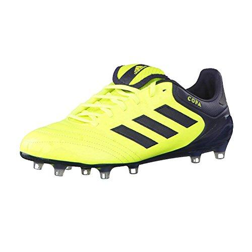 adidas Herren Copa 17.1 FG Fußballschuhe Gelb Neongelb/schwarz, 46 EU