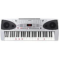 McGrey LK-5430 Tastiera con 54 Tasti Illuminati, Microfono e Leggio