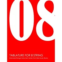 Tablature For 8 String: Extended Range Instrument Series From Red