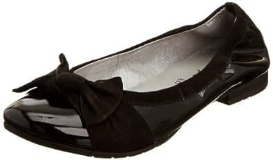 Gabor Toni Black Shoe Ballerina 67-357-05 2.5 UK Youth