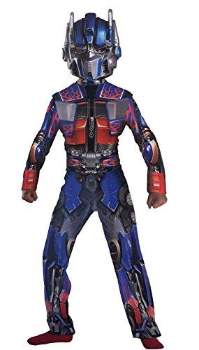 Prime Transformers Revenge of The Fallen Deluxe Optimus Kostüm 7-8 Jahre (7-8 ()