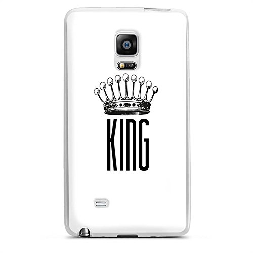 Samsung Galaxy Note Edge Silikon Hülle Case Schutzhülle King Krone (King Kunststoff Kronen)